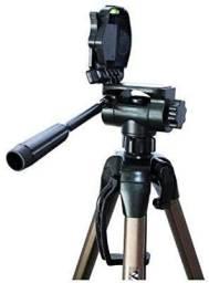 Tripé de Câmera Weifeng Wt-3770 até 165cm Altura em Alumínio para Foto e Vídeo
