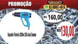 Soprador Térmico 2000w 220v Azul Gamma