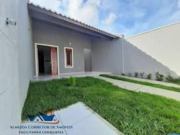 Casa Nova c/ 2 suítes, financiada pela Caixa Econômica.