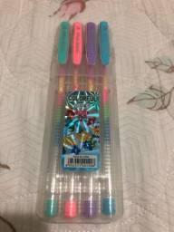 Kit canetas neon NOVA