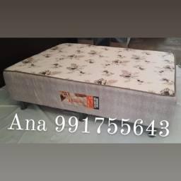 cama box casal semi ortopédica