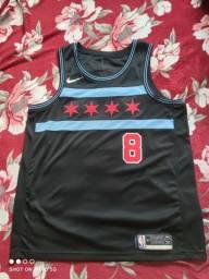 Título do anúncio: Camisa Nike NBA Chicago Bulls City Edition 2018 GG