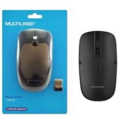 Mouse Sem Fio Lite 1200 DPI Usb Multilaser