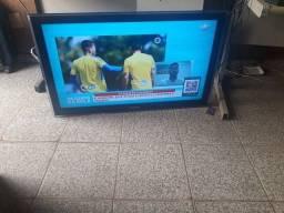 tv samsung, lcd 42 pelegadas,  tem conversor, aceito cartao