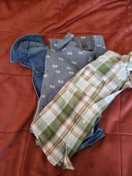 3 camisas sociais