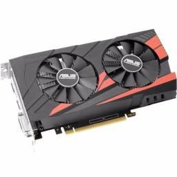 Placa de Video VGA Nvidia Asus Geforce GTX 1050 Ti 4GB Expedition GDDR5 - EX-GTX1050TI-O4G