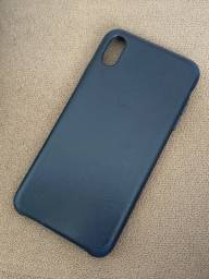 Capa couro original iPhone XSMAX