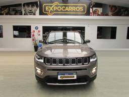 Jeep Compass  2.0 Limited - Ano 2018 - Baixo Km - Financio