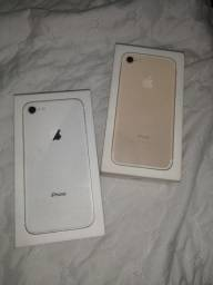 Caixas de iPhone 8 e 7