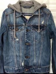 Jaqueta jeans feminina Hollister