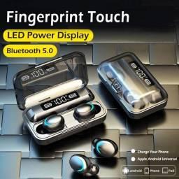 Fone Bluetooth F9 com carregador portátil