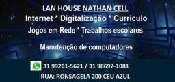 Serviços de informatica lan house venda e região