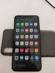 Xiaomi mi8 128gb/6gb preto completo (aceita troca)