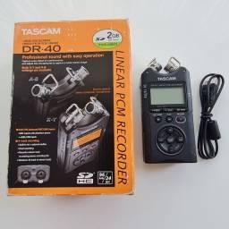 Gravador Digital Tascam DR-40