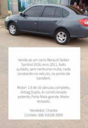Renault Symbol 1.6, sem dívidas, completo , charles 9.8108-3959 - 2011