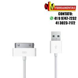 Cabo Usb Para Ipod Ipad 2 / 3 Iphone 2g / 3g / 4 / 4s