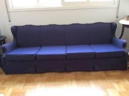 Sofá estiloso, com estrutura reforçada