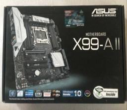 Placa Mãe Asus X99-A II até 128GB ddr4 e conexão m.2