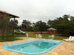 Chácara no Lago de Manso C/ Casa Beira de Rio e Piscina
