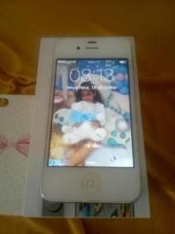 IPhone 4s Branco 16Gb ios 9.3.5! Atualizado!Semi Novo!