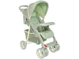 De 599 Por 249 - Lacrado! Carrinho de Bebê Passeio Lenox Kiddo Lisboa Verde/cinza