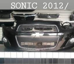 Parachoque dianteiro Sonic 14 completo