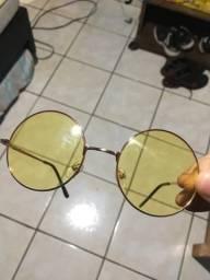 Óculos John Lennon amarelo comprar usado  Campo Grande