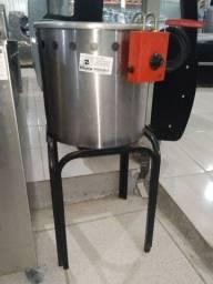 Fritadeira 12L Progas PR90E elétrica 110v, água/óleo usada, Frete Grátis