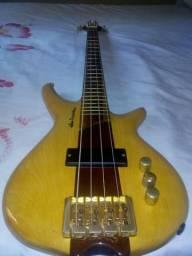 Baixo de 4 cordas ; Luthier!