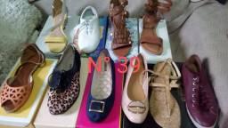 Sapato e tênis feminino. N° 37, 38, 39 e 40