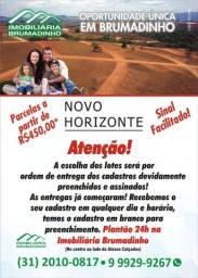 Grande oportunidade em Brumadinho, parcelas a partir de R$450,00