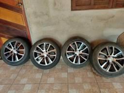 Conjunto de rodas originais Chevrolet aro 15 para Celta, Prisma, Agile, Onix e Corsa