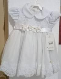 Vestido menina novo