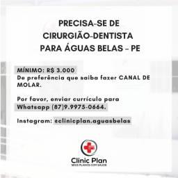Vaga de cirurgião-dentista na Clinic Plan