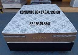 Conjunto box casal por apenas 999.00 a vista