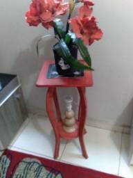 Cadeira vintage vermelha