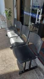 Longarina,Cadeira pra recepção,Cadeira plástica, Cadeira