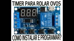 Relé Temporizador Dc 5v-30v Até 999