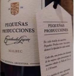 Vinhos pequenas producciones