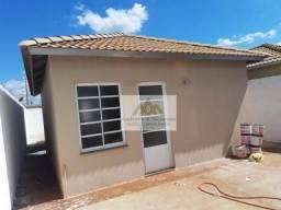 Casa com 2 dormitórios para alugar, 46 m² por R$ 700,00/mês - Jardim Cristo Redentor - Rib