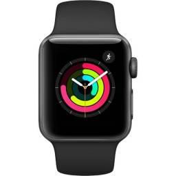 Apple Watch 3 38mm - Novo, Lacrado, Nota F, Garantia, Parcela sem juros