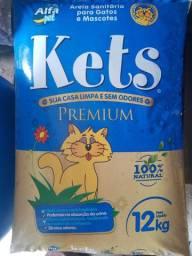 Areia pra gato Premium 12kg 28,00