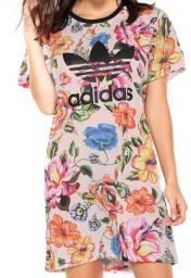 Vestido adidas originals floral