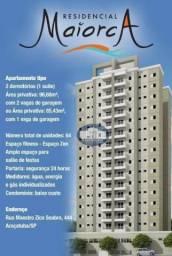 Apartamento com 2 dormitórios para alugar, 86 m² por R$ 1.500/mês - Saudade - Araçatuba/SP