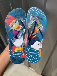 Sandálias top de linha