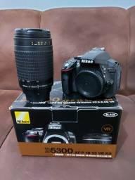 Kit Nikon D5300 + lente 70-300mm