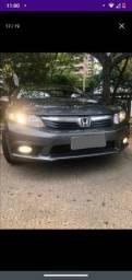 Honda Civic 2015 cinza