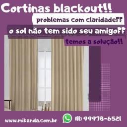 Cortina blackout longa 2,80x2,60!