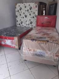 Cama box solteiro r$ 210 casal r$ 250 entrega grátis