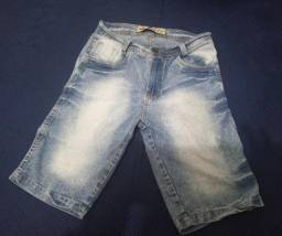 Shorts Jeans masculino Tam 36